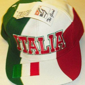 Italy Italia The Game vintage 90s snapback hat New